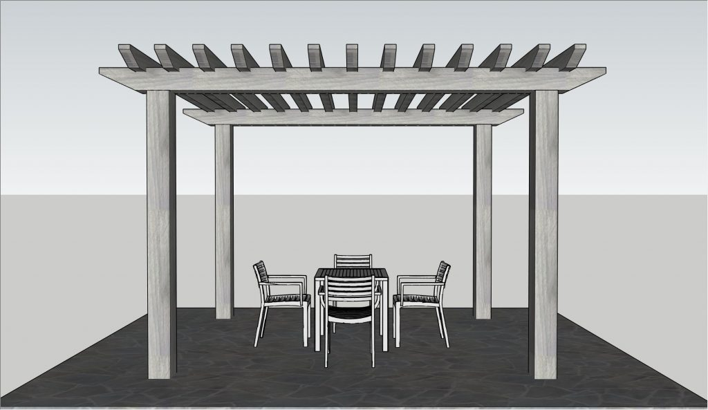 North Woods Pergola