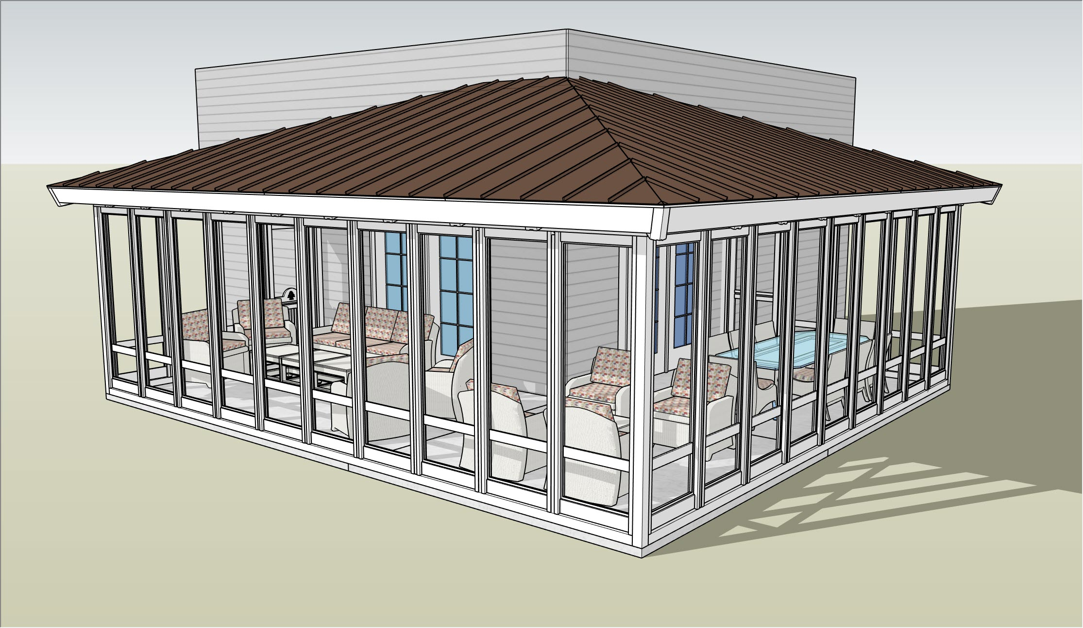 Acadia 3-Season Screen Porch