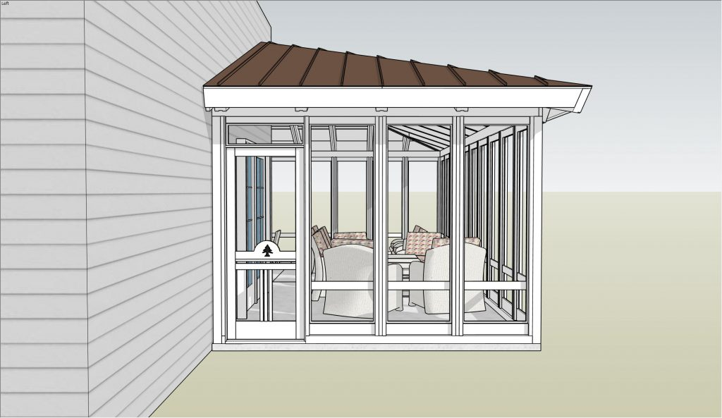 Acadia 3-Season Screen Porch