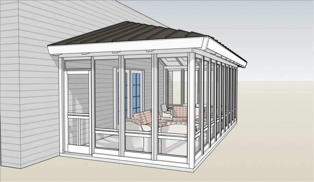 Katahdin 3-Season Screen Porch