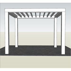 attached to patio
