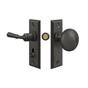 Standard door hardware