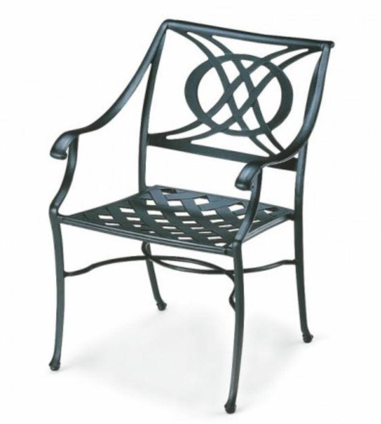 Cadiz Chairs (Cast Aluminum) screen porch furniture and pergola furniture