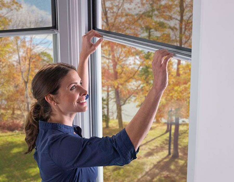 Expanse Porch Window - Woman Opening Window
