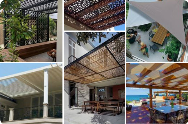 Pergola Shade Covers