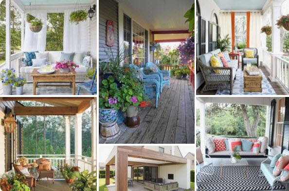 Porch Open Designs