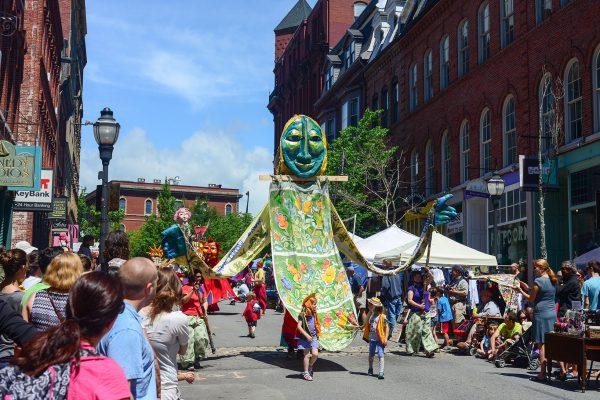 Portland Maine parade