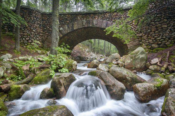 Stone Bridge at Acadia National Park